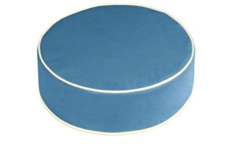 round ottoman cushion custom ottoman cushion standard round