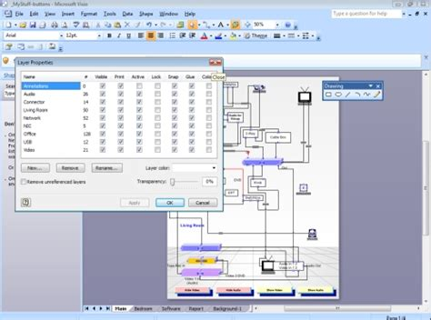 visio layer visio hide and show layers informit