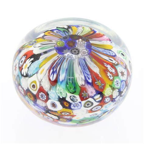 Glass Paper Weight - murano paperweights murano glass millefiori