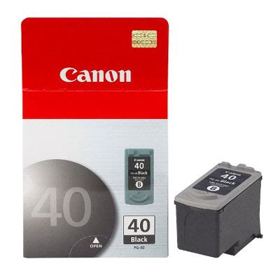Cartridge Original Canon Pg40 Black Bekas genuine canon pg 40 black ink cartridge pg40bkoem
