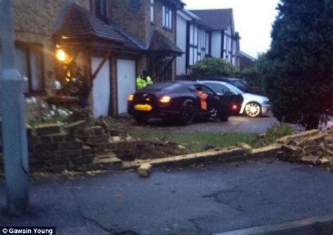 bentley driveway owner of 163 100 000 bentley that ploughed through garden