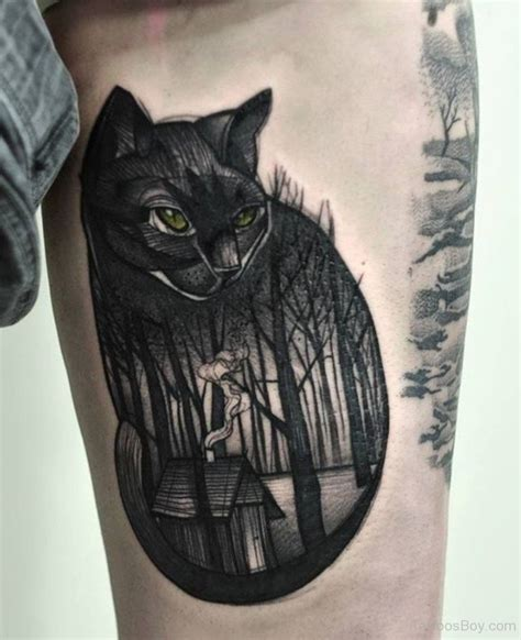 cool cat tattoo cat tattoos designs pictures page 4
