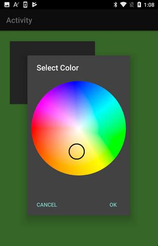 android color picker android code snippet color picker b4x community