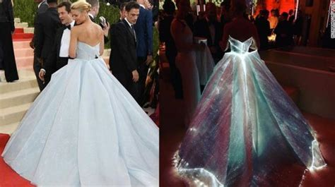 zac posen light up gown zac posen s light up fairytale dress at the met gala 2016