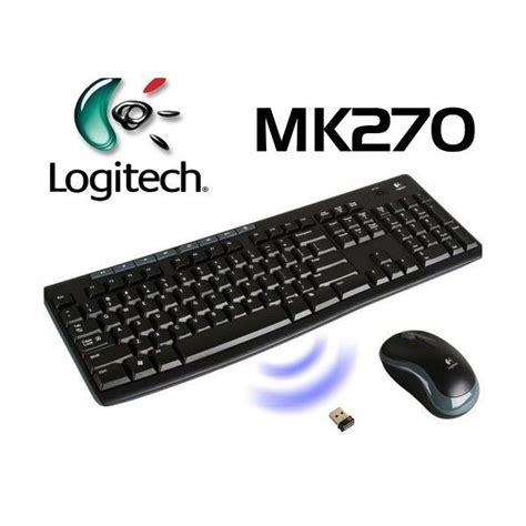Keyboard Wireless Logitech Mk270 brand new logitech wireless combo mk270 with keyboard and mouse ebay