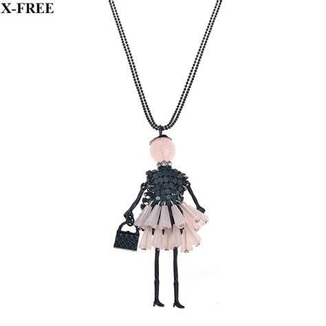 fashion doll necklace buy wholesale doll pendant necklace from china doll