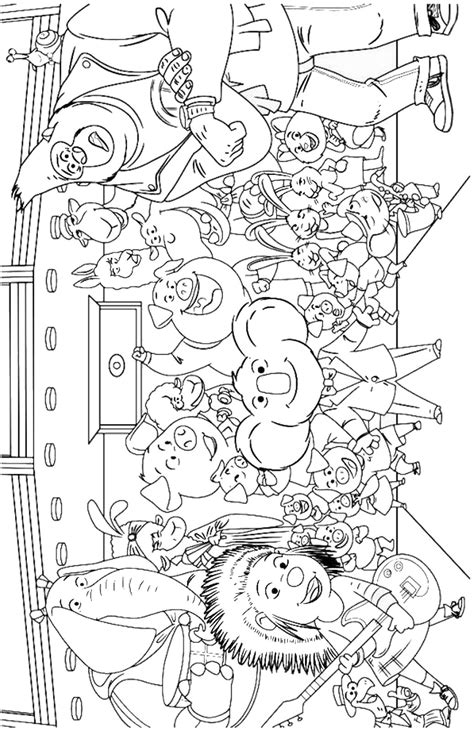 cartoon sing movie coloring pages coloring pages