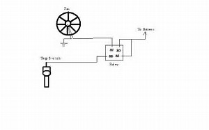 wiring diagram for cooling fan relay wiring image wiring diagram for cooling fan relay images