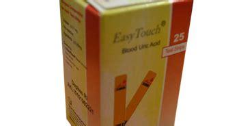 Easy Touch Blood Uric Acid Asam Urat easy touch blood uric acid tes strips toko medis jual