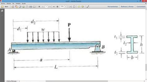 beam cross section calculator determine maximum shear stress in the beam that ha