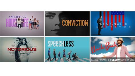 Abc Picks Up 11 Series For Fall Lineup by 9 New Series Announced For Abc Fall Schedule Wciv