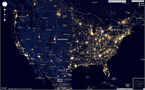 nighttime map of us how to find skies for photography