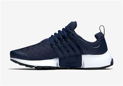 Nike Air Presto Woven Se Navy Sneakers Pria Sepatu Jalan Premium nike air presto se woven 848186 400 sneakernews