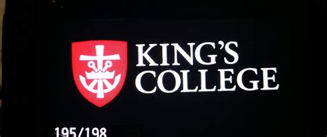 King S College Letter wilkes barre business signs commercial sign company