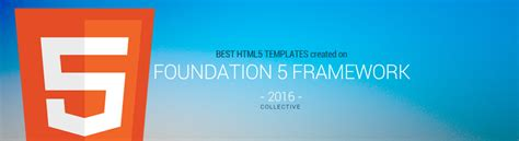 5 Best Html5 Foundation Framework Templates 2016 Responsive Miracle Foundation Html5 Templates