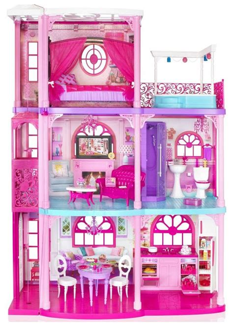 images of barbie doll houses barbie s 3 storey dream house review doll houses online