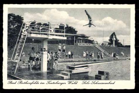 dissen schwimmbad ansichtskarte postkarte bad rothenfelde teutoburger wald