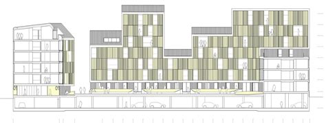 section 4 housing gallery of vivazz mieres social housing zigzag