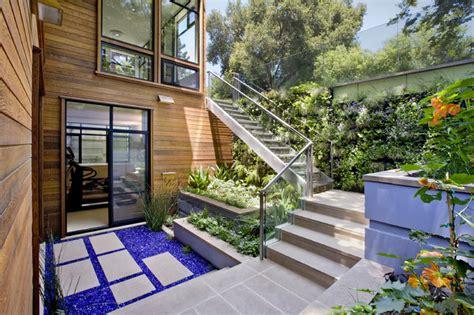 Garden Terrace by Below Grade Garden Terrace Landscape