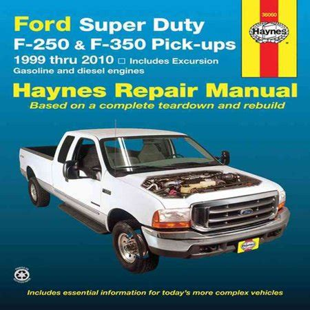 car repair manuals online pdf 2010 ford f350 security system ford super duty pick ups and excursion automotive repair manual ford super duty f 250 and f 350
