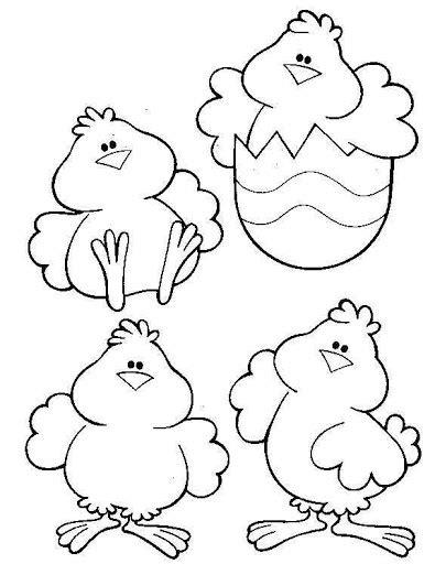 pollito en su cascaron colouring pages dibujos de gallos y gallinas para colorear manualidades