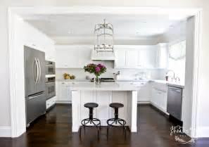 Stunning kitchen with visual comfort lighting large arch top lantern