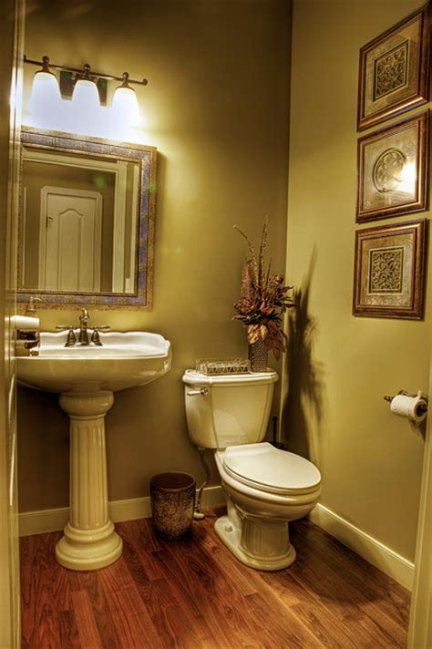 Design Ideas For Powder Room Makeovers Home Revovation Makeover Traditional Powder Room Other Metro By Interior Design