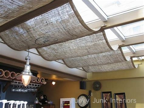 Across Ceiling by Skylights Fabric Shades Actually I M Doing This On