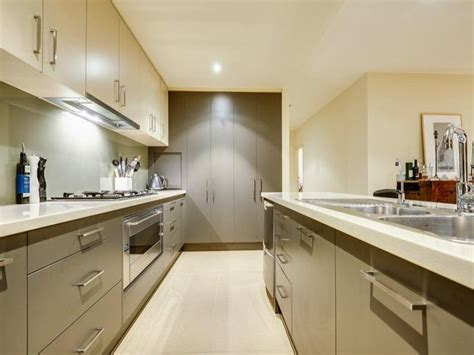 Modern Galley Kitchen Design Modern Galley Kitchen Design Using Granite Kitchen Photo 1404538