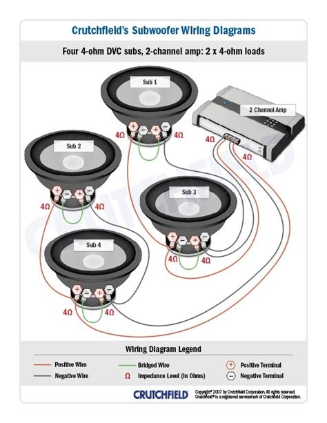 1 ohm speaker wiring diagram wiring diagram and