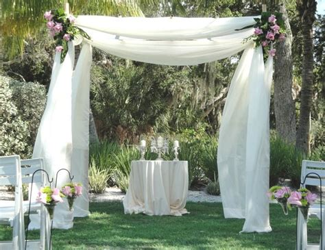 Wedding Canopy Wedding Flowers Longboat Key Club Harbourside Venue