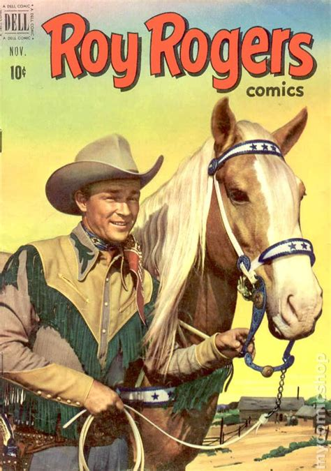 stealing a cowboys books roy rogers comics 1948 61 and trigger 92 on comic books