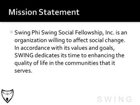 swing phi swing social fellowship inc swing phi swing expresso msg chapter