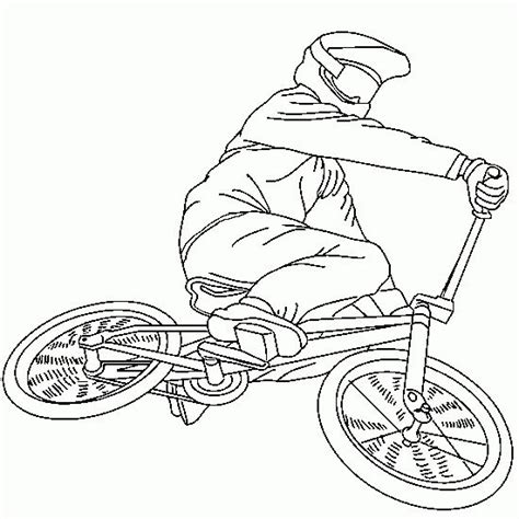 Bmx Coloring Page by Printable Dirt Bike Coloring Pages Pictures Travel