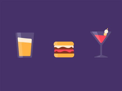 design motion graphics 31 inspiring burger logo designs motion design 2d and