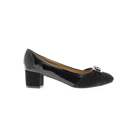 chaussmoi shoes size 5 5 cm bi material heel black black
