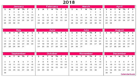 get free blank template of year 2018 printable calendar these