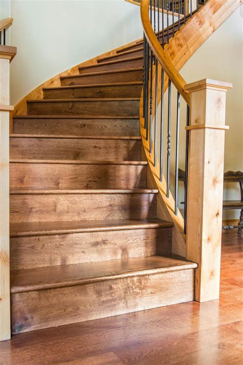 Stairs & Hand Rails   Hardwood Flooring Colorado   Ward