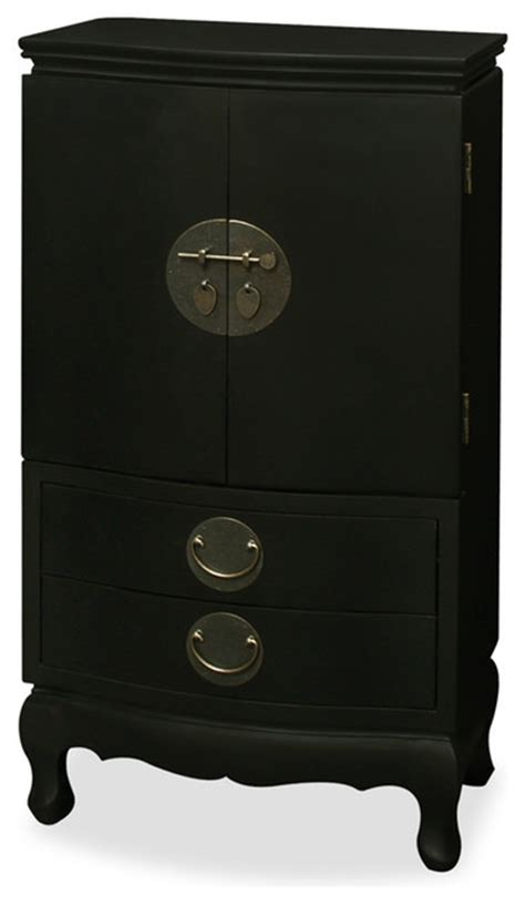 japanese jewelry armoire black ming style jewelry armoire asian jewelry