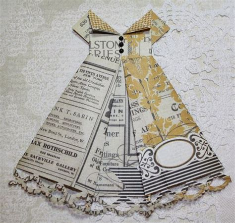 Paper Dress Origami - origami paper dress yellow and black origami paper