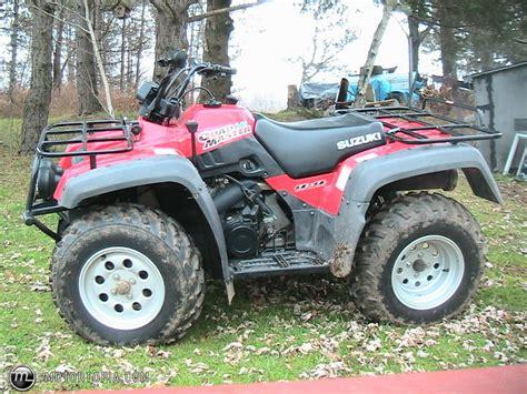 2001 Suzuki Quadrunner 500 2001 Suzuki Master 500 Id 2424