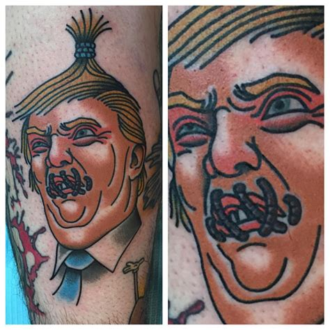 murfreesboro tattoo these die clinton and donald supporters