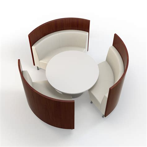 round banquette intimate and affectionate dining atmospheres with curved