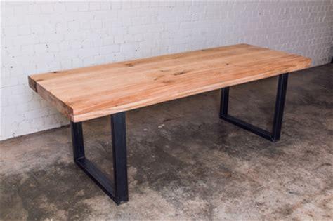 landelijke tafel zelf maken eiken houten tafel op maat natuurlijktafelen