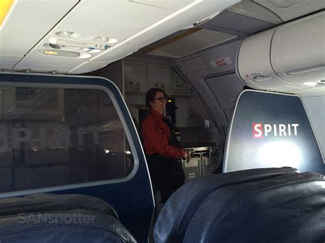 trip report spirit airlines a319 big front seat san diego