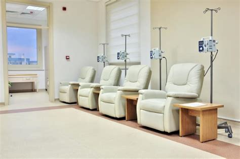 chemotherapy room ovarian cancer treatment set to improve following biomarker discovery news today