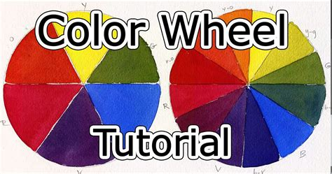 Pink Color Wheel color wheel tutorial how to mix paint youtube