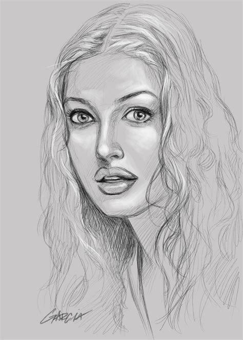 Sketches Faces by Jesus Garcia Sketch