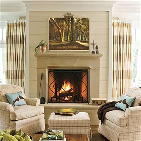 southern living fireplaces from my front porch to yours fireplace makeover diy planked wall