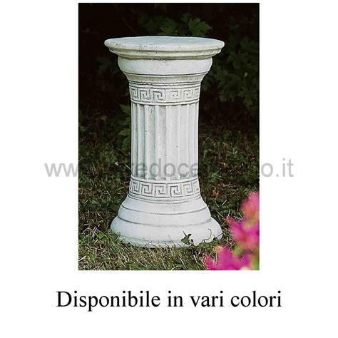 colonne da giardino colonne in cemento lavaredo diam cm29x48h nei vari colori